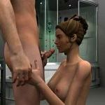 Play 3D Shower Fellatio 4 now!