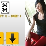 Play Guess Next With Catie free sex game now!