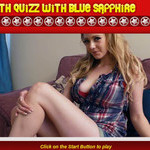 Play Math Quiz med Sapphire Blue free sex game now!