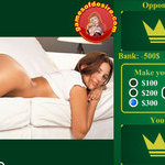 Play Strip Blackjack Busty Jelena free sex game now!