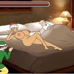Play Unfaithful Mrs. Claus free sex game now!